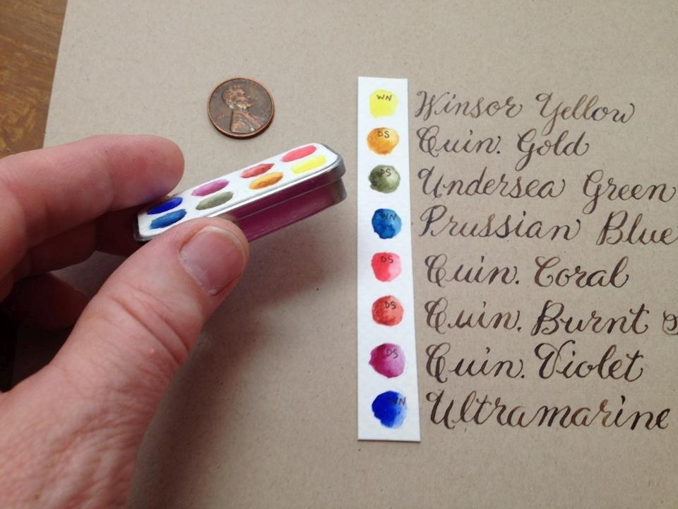 960x720 Mini Watercolor Palette For A Friend