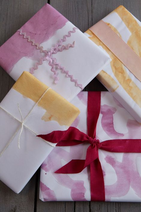 470x705 Watercolor Paper For Presents. Christmas Special