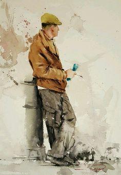 Human Watercolor