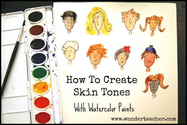 600x402 How To Create Skin Tones With Watercolor Paints