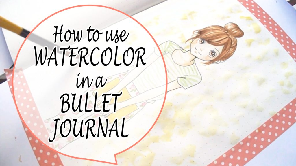 1024x576 How To Use Watercolor In A Bullet Journal Sery Little Notes