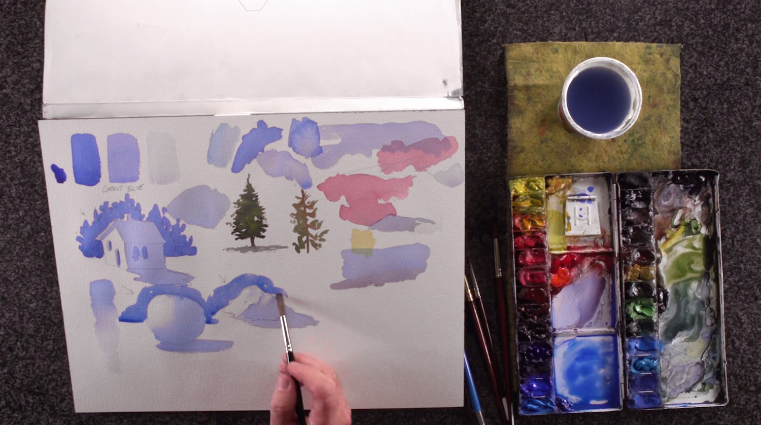 1500x838 Updated] 36 Watercolor Techniques Amp Painting Tutorials