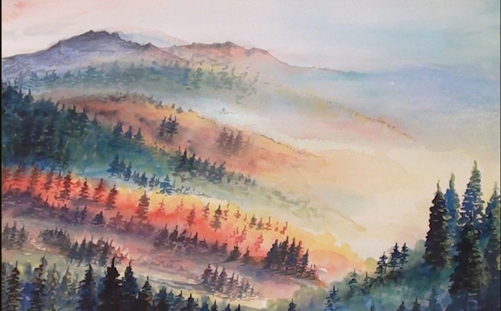 991x615 How To Paint A Landscape Watercolor Painting Dilip Realistic