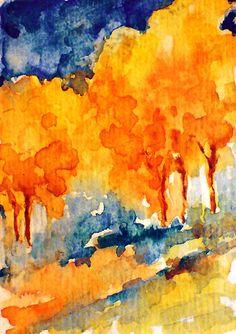Impressionist Watercolor
