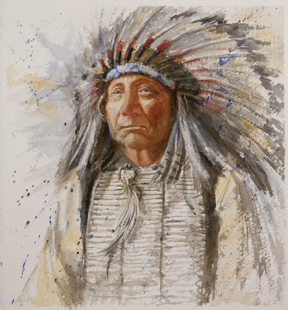 Indian Watercolor