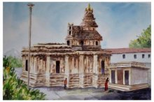 220x146 Indian Watercolor Paintings Watercolor Paintings By Indian Artists