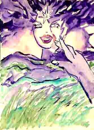 Jane Eyre Watercolor Paintings