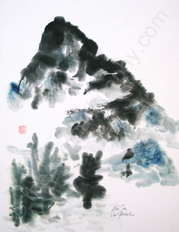 350x453 Mountain Paintings Pictures Of The Universal Spirit Of Nature