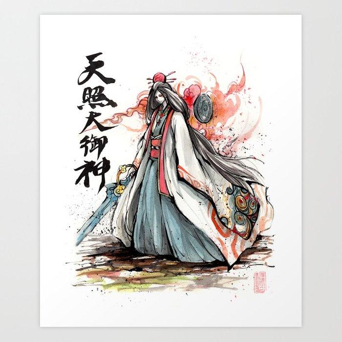 Japanese Watercolor Prints