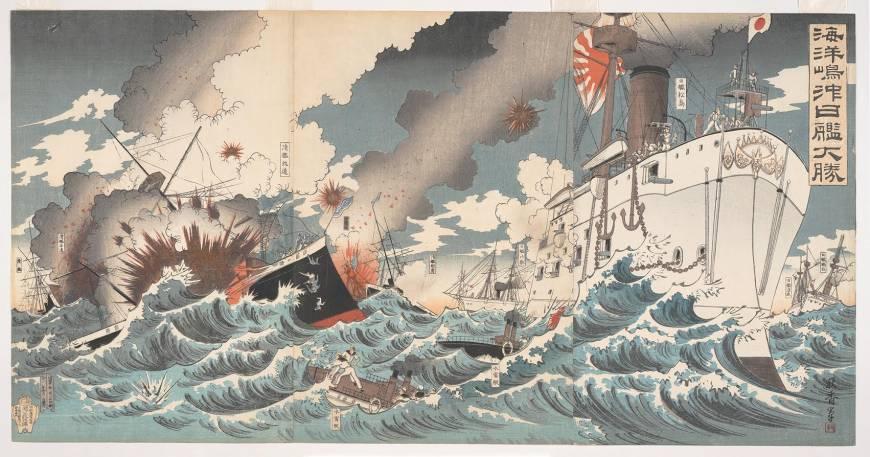 870x457 Exploring War Through Woodblock Prints The Japan Times