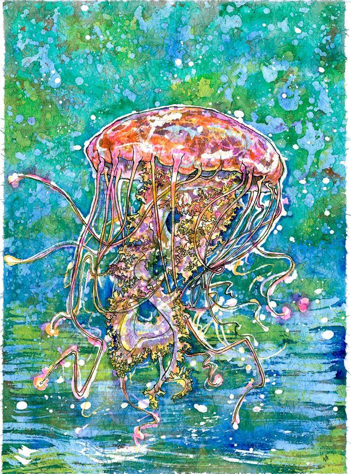 710x960 Move Like A Jellyfish Art By Nick