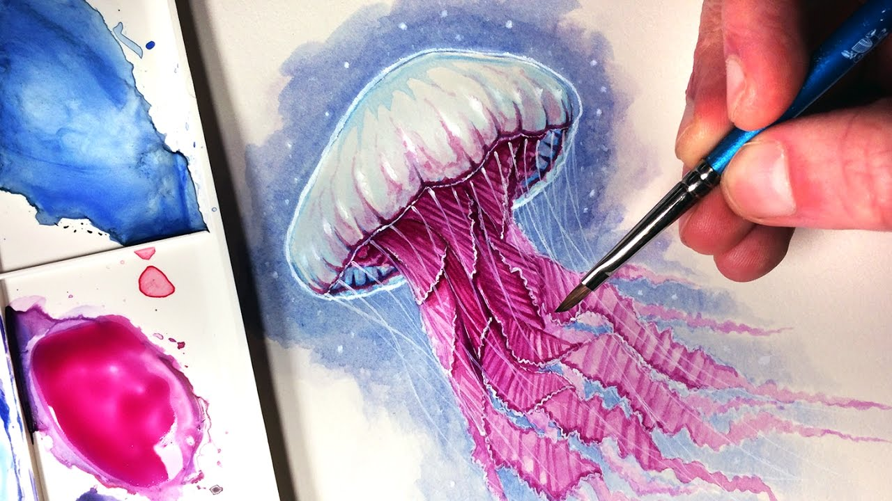 1280x720 Painting A Jellyfish