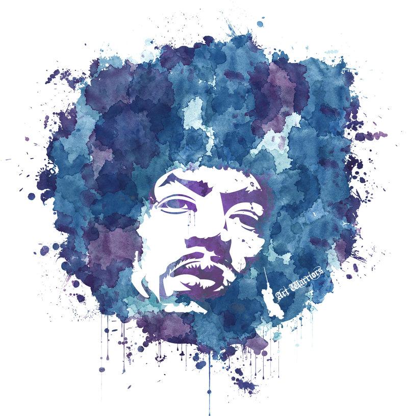 800x816 Jimi Hendrix T Shirt By Artwarriors