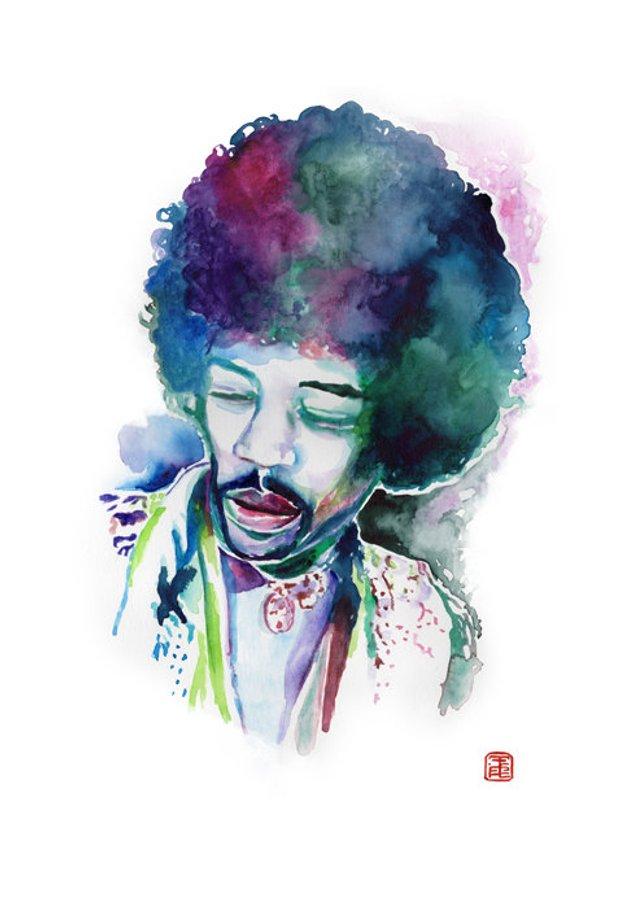 642x908 Jimi Hendrix Poster Jimi Hendrix Poster Jimi Hendrix Fan Etsy
