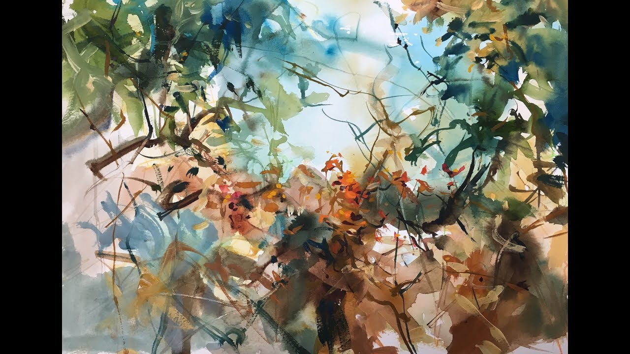 1280x720 Jungle Watercolor 2x Speed