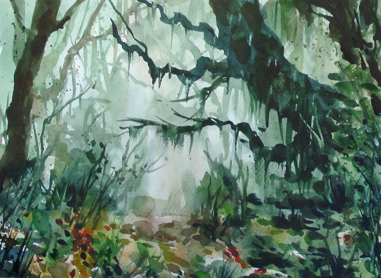 3000x2186 Watercolor Jungle 20x Speed