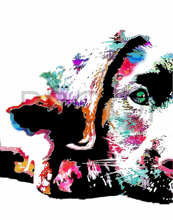 570x725 Labrador Retriever Puppy Watercolor Dog Portrait Riley Free In