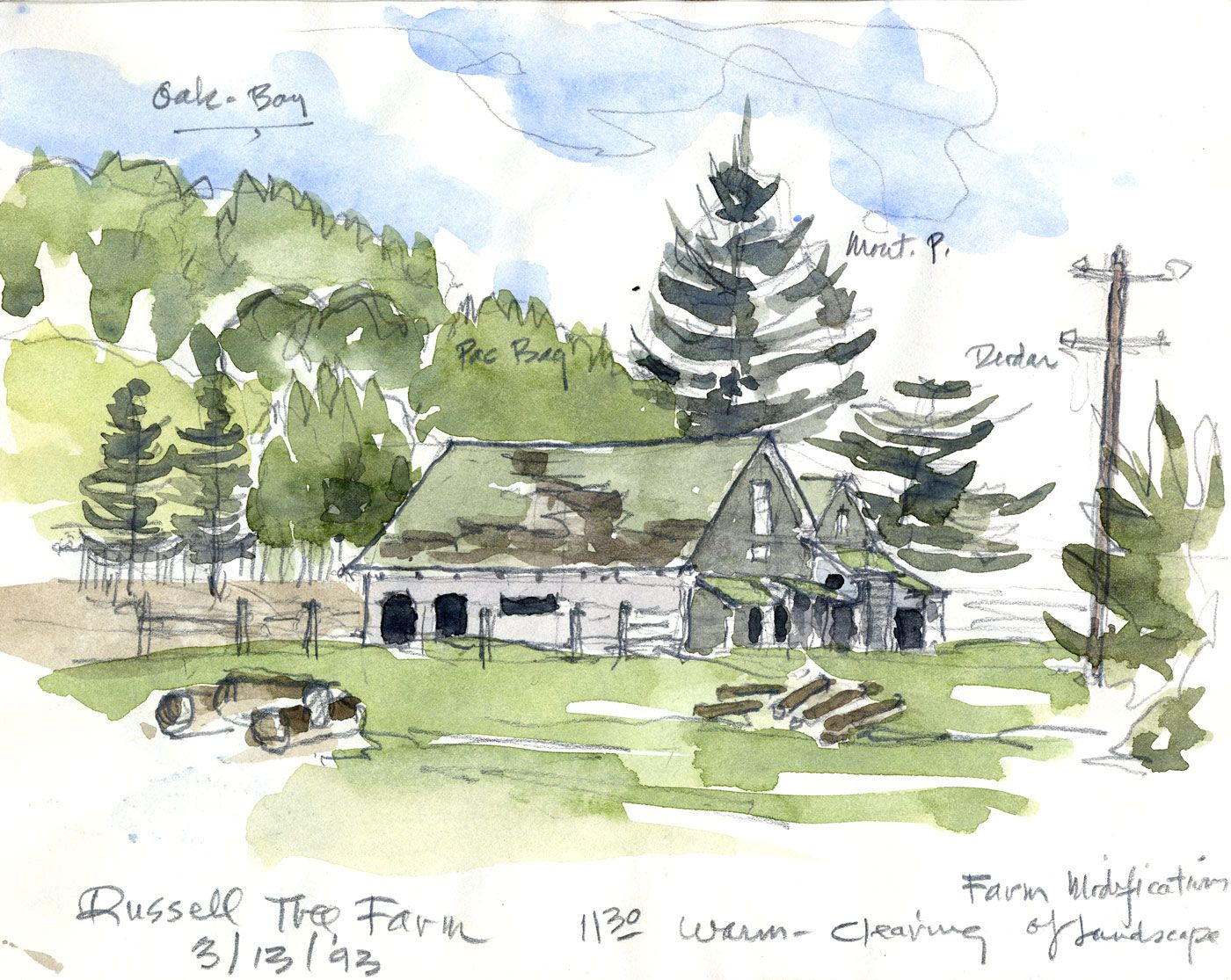 Landscape Architecture Watercolor
