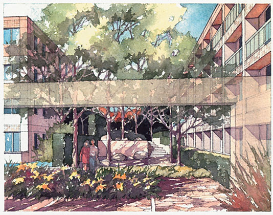 534x420 Architecture Products Image Architecture Watercolor