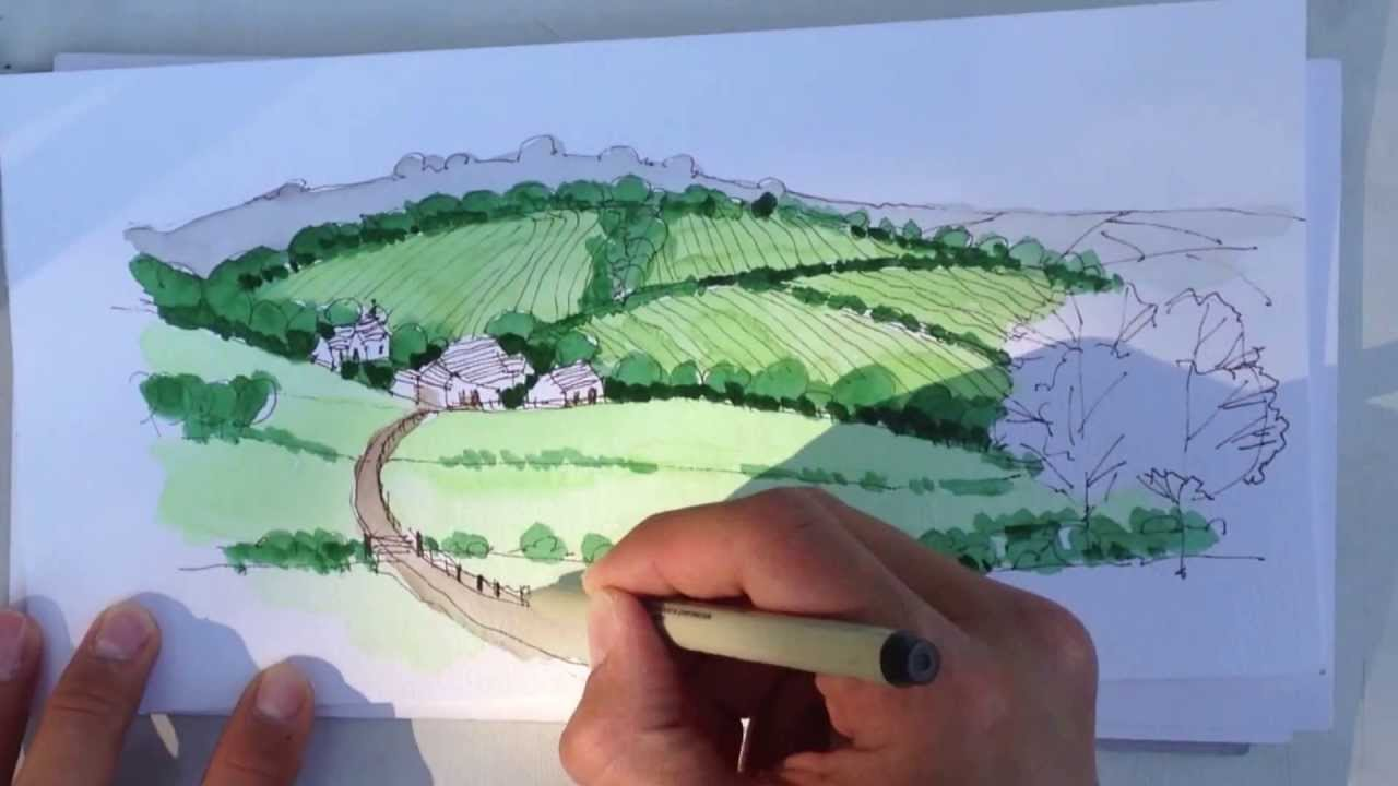 1280x720 How To Draw With Watercolors