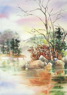 Landscape Watercolor Paintings Gallery
