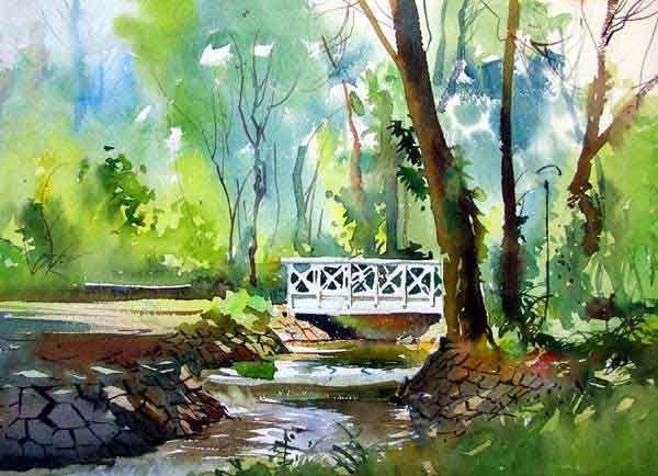 600x434 Gallery Best Watercolor Landscape Paintings,