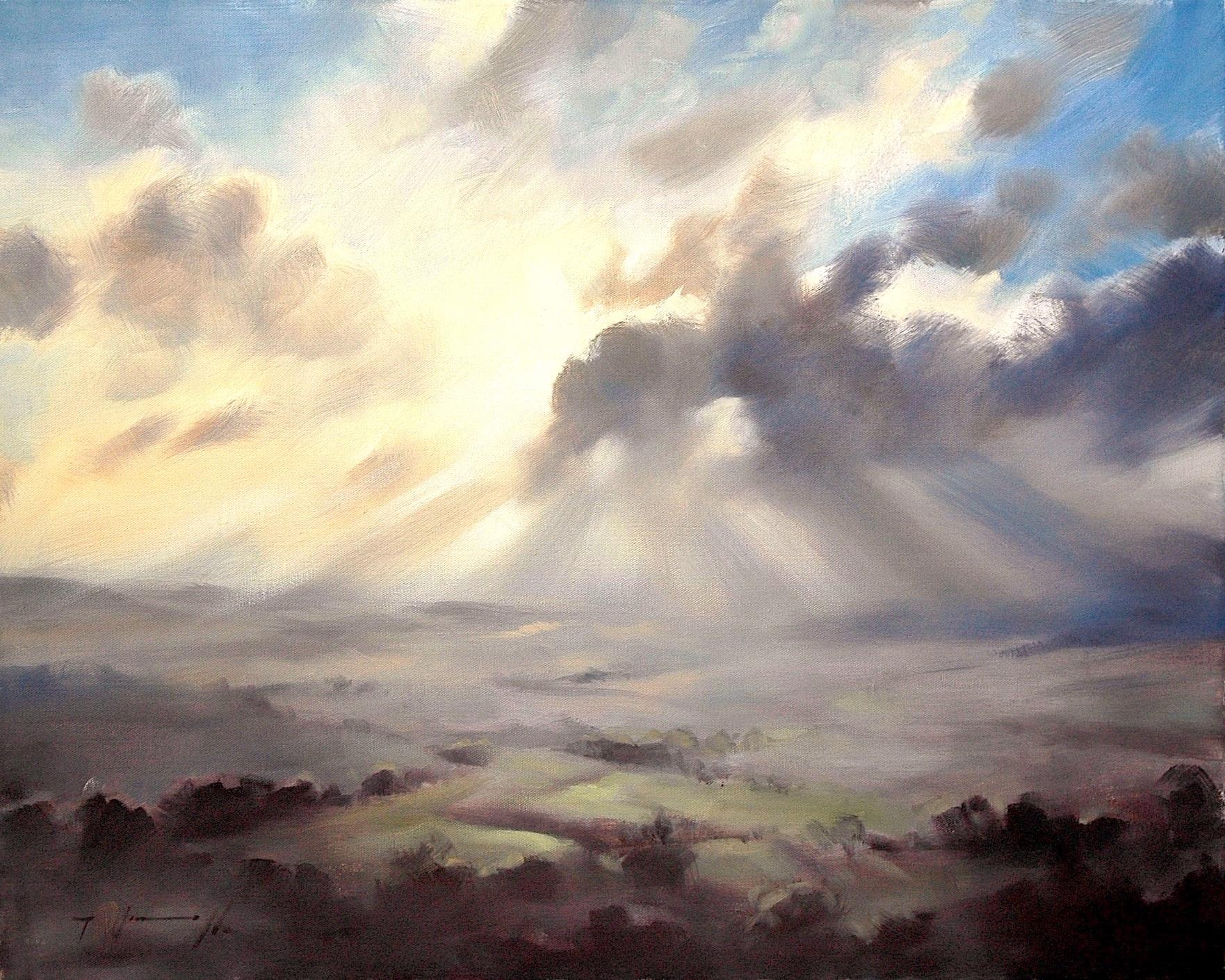 1762x1410 Landscape Painting By International Artist Trevor Waugh