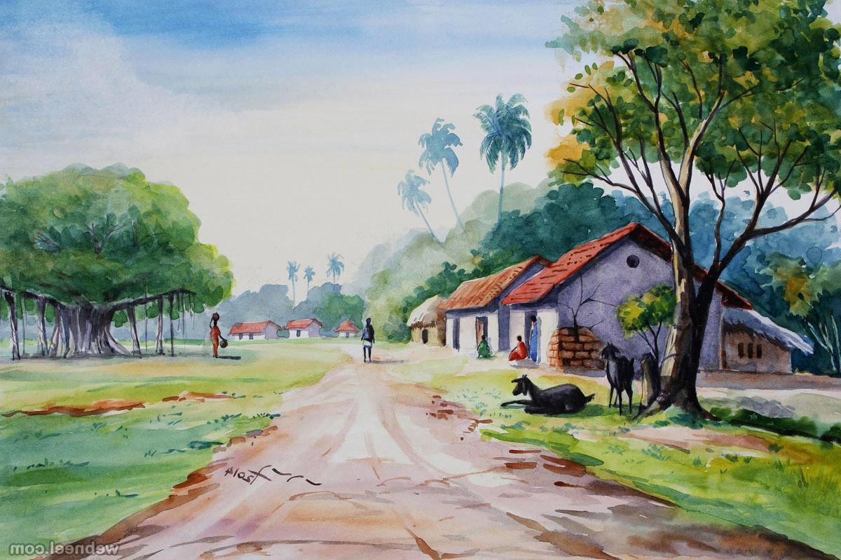 1200x799 Landscape Watercolor Paintings Gallery 25 Beautiful Watercolor
