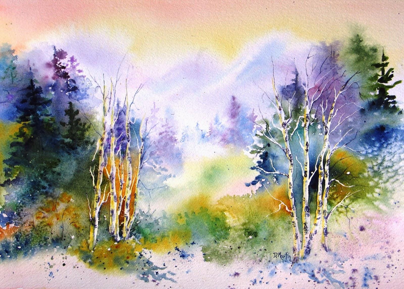 1600x1146 Photos Landscape Watercolor Artists,