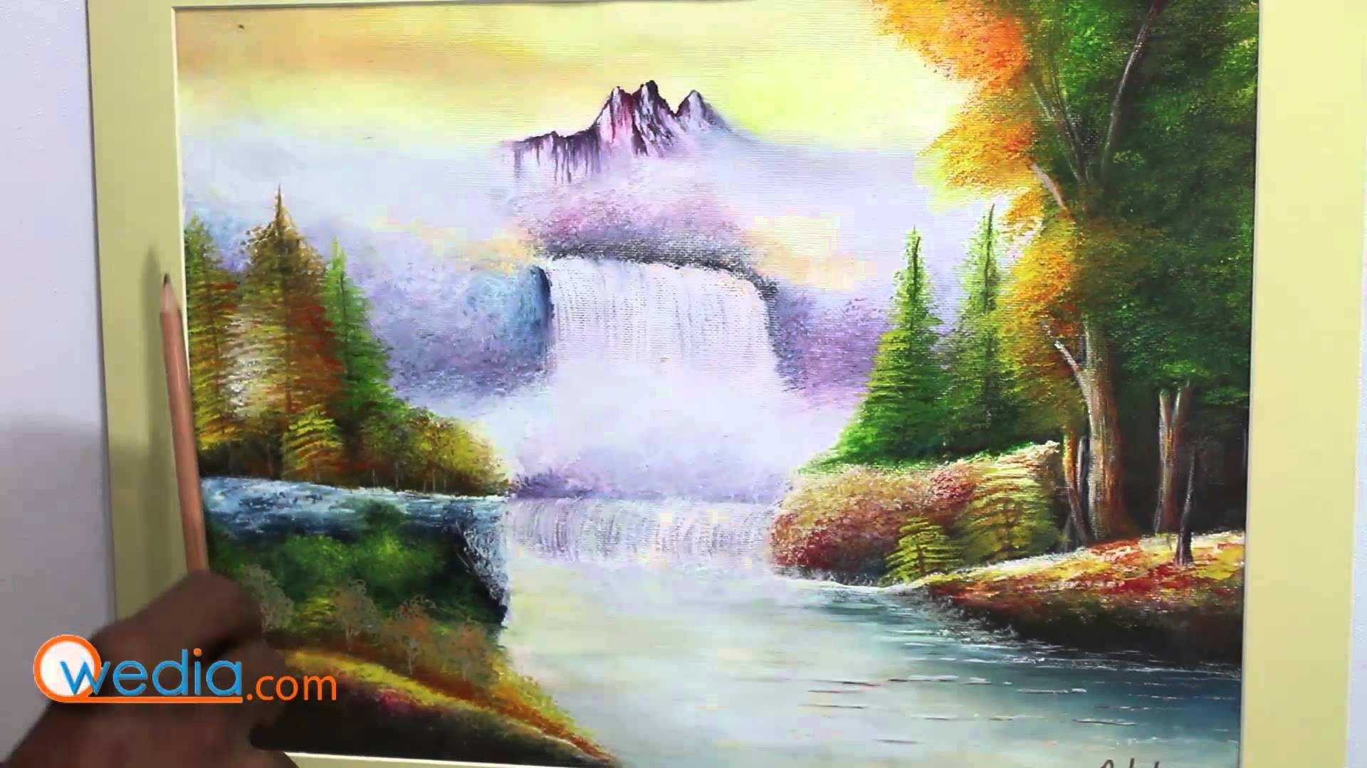 1920x1080 Watercolor Landscape Painting Luxury Easy Landscape Watercolor