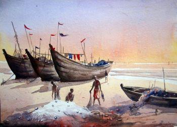 350x252 Artfido Buy Art Online Watercolor Painting Gallery 2736879604