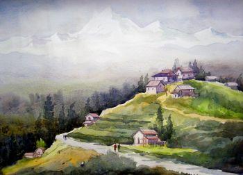 350x252 Artfido Buy Art Online Watercolor Painting Gallery 2737299027