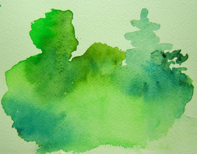 400x313 Watercolors And Words Every Green In May Permanent Green Light +
