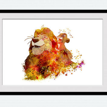 354x354 Best Lion King Wall Decor Products On Wanelo