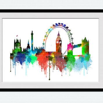 354x354 Best London Skyline Wall Art Products On Wanelo