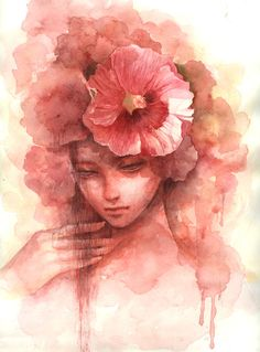 Love Watercolor Painting