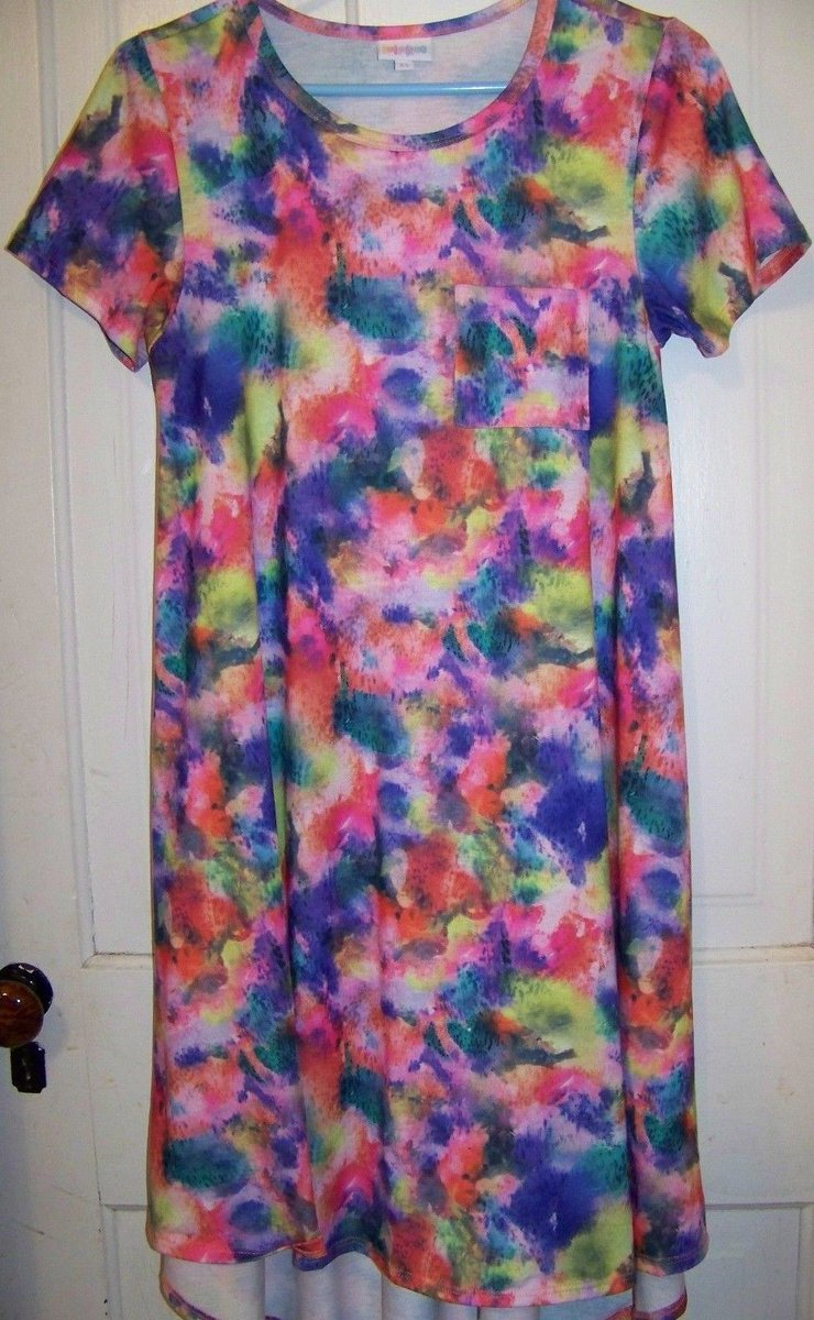 740x1200 East Lane Ave On Twitter Lularoe Carly Dress Xs Watercolor