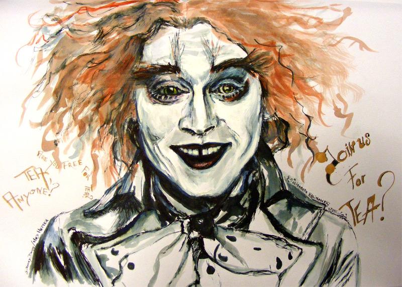 800x572 Mad Hatter Johnny Depp By Lizdoucefolie