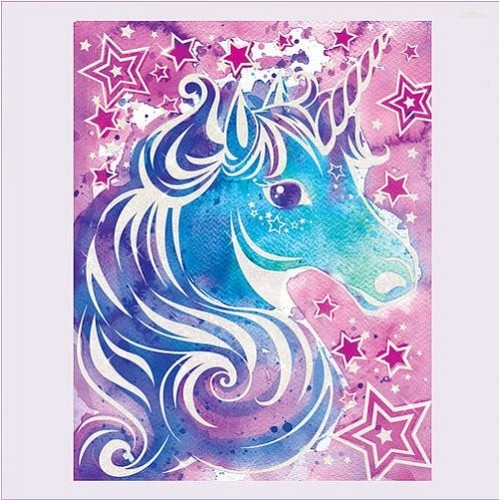 500x500 Magic Watercolour