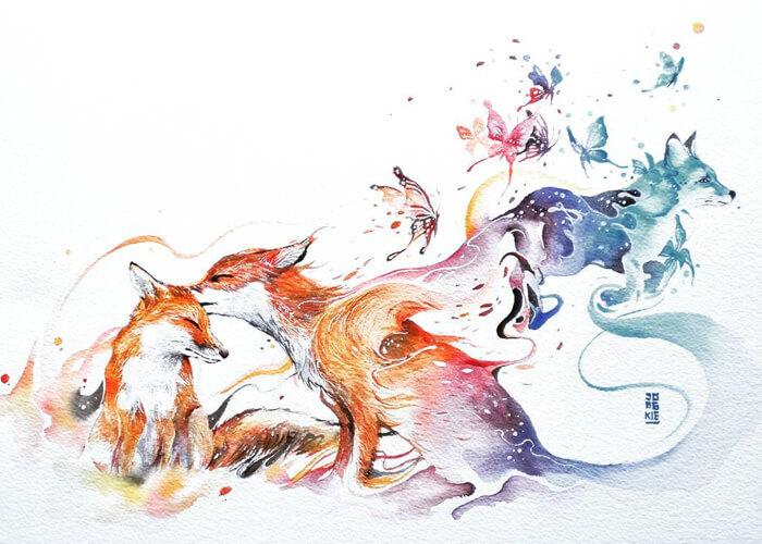 700x500 Magic Watercolour, Luqman Reza, 2017, 700 500 Art