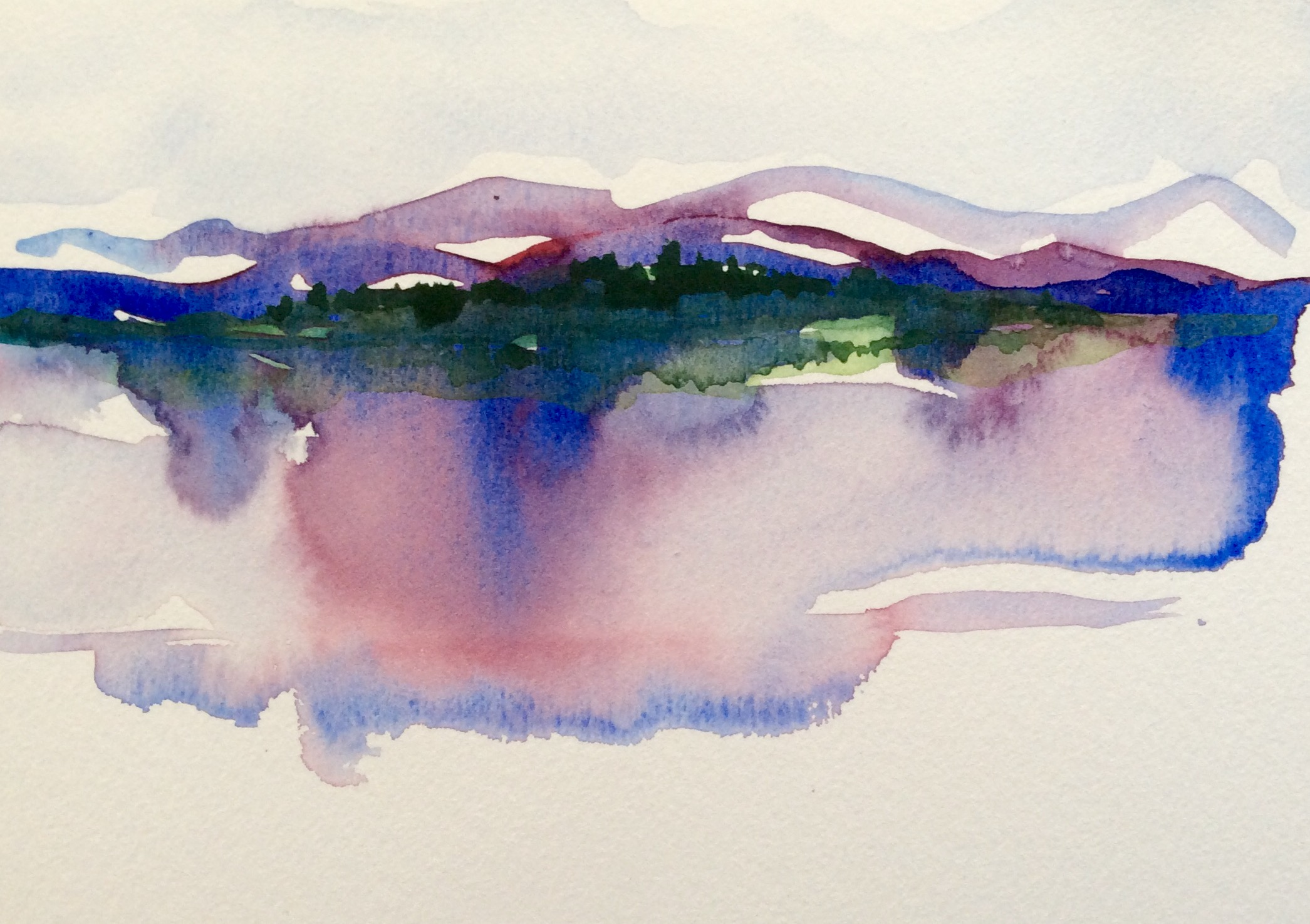 2091x1476 The Magic Of Watercolor Watercolors By Lynn Holbein