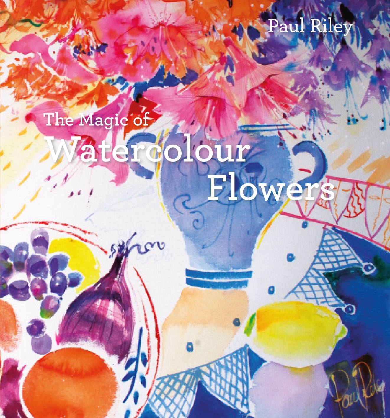 1321x1417 The Magic Of Watercolour Flowers Hardcover Coombe Farm Studios