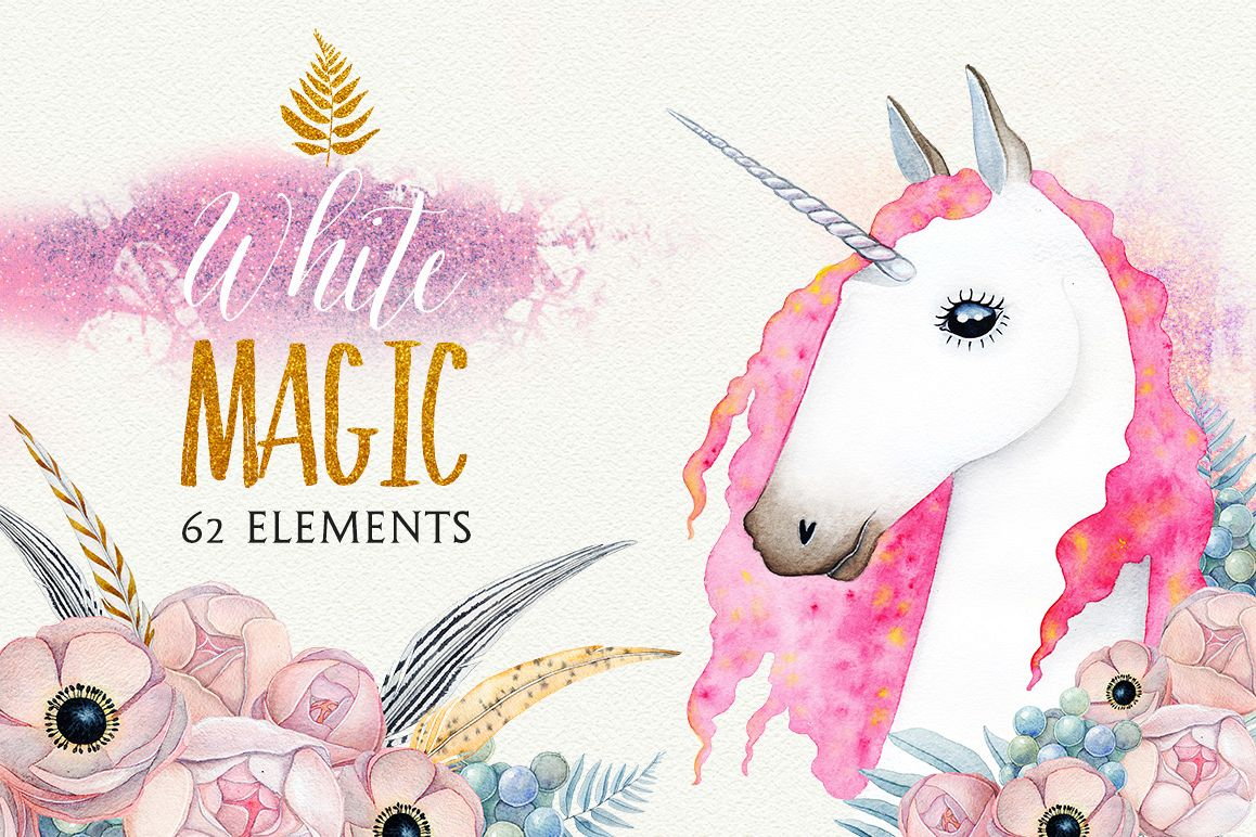 1158x772 White Magic Watercolor Set
