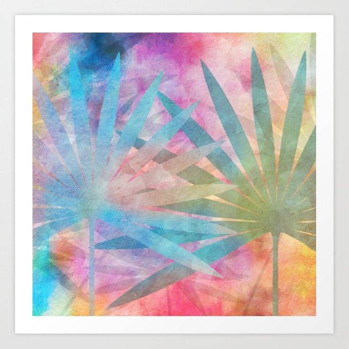 700x700 Watercolor Magic Art Print By Talins Society6