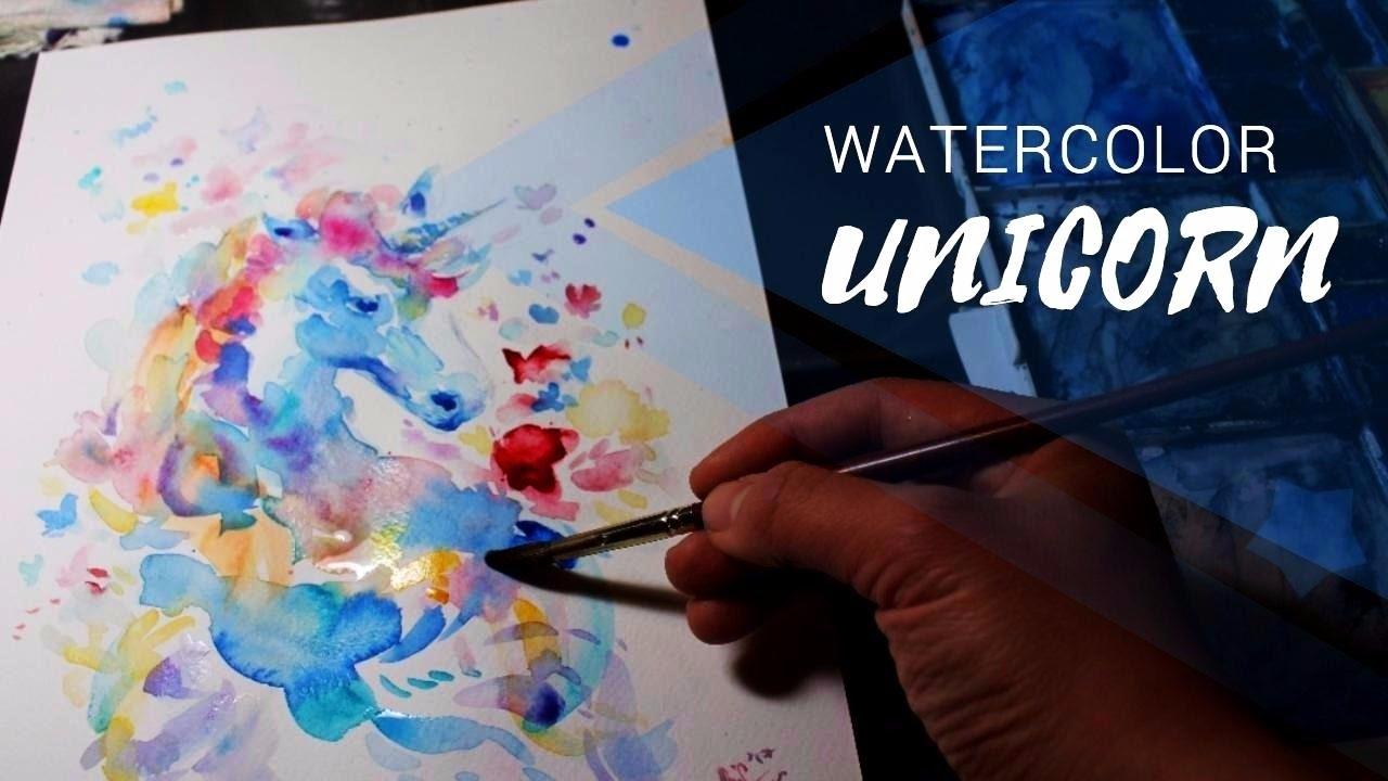 1280x720 Watercolor Rainbow Unicorn Secrets Of Magic