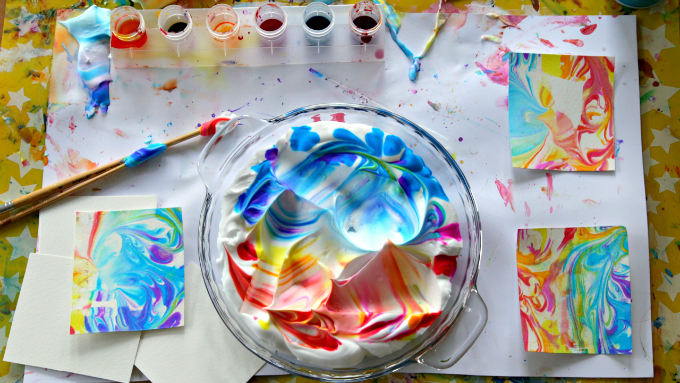 680x383 How To Marble Paper (6 Marbling Techniques That Are Easy And