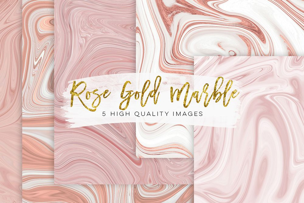 1000x666 Rose Gold Paper, Rose Gold Marble Watercolor Paper, Marble Rose