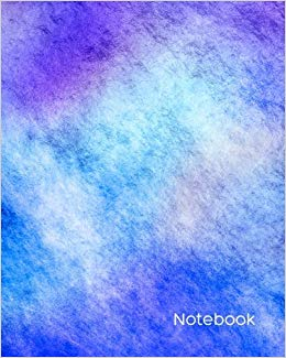 260x325 Notebook Bullet Journal Marble Watercolor Dot Grid L