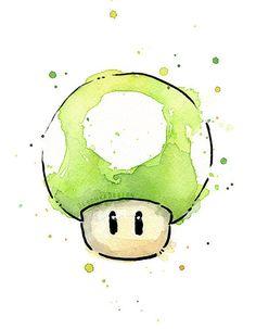 Mario Watercolor