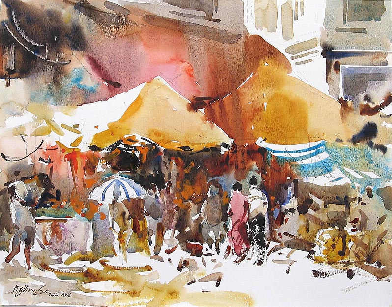 798x626 Chicago Watercolor Artist Ng Woon Lam Nws